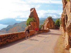 Radfahren in der Calanches